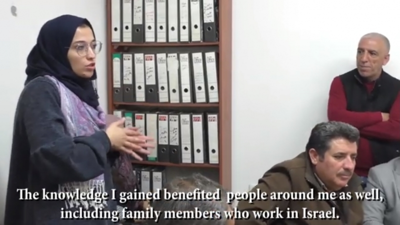 Conclusion of Palestinian Labor Rights Volunteers Training in Jenin