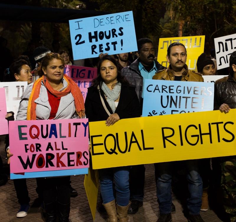 """18,000$ שילמה מ.ס, מהגרת עבודה בסיעוד תמורת """"הזכות"""" לעבוד 7 ימים בשבוע, 24 שעות ביום"""