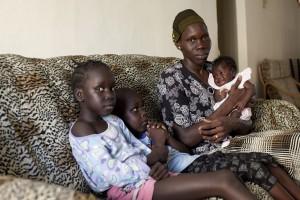 South Sudanese refugees, Arad, Israel, 12.6.2012
