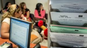 קבלת קהל - משרדי קו לעובד תל אביב