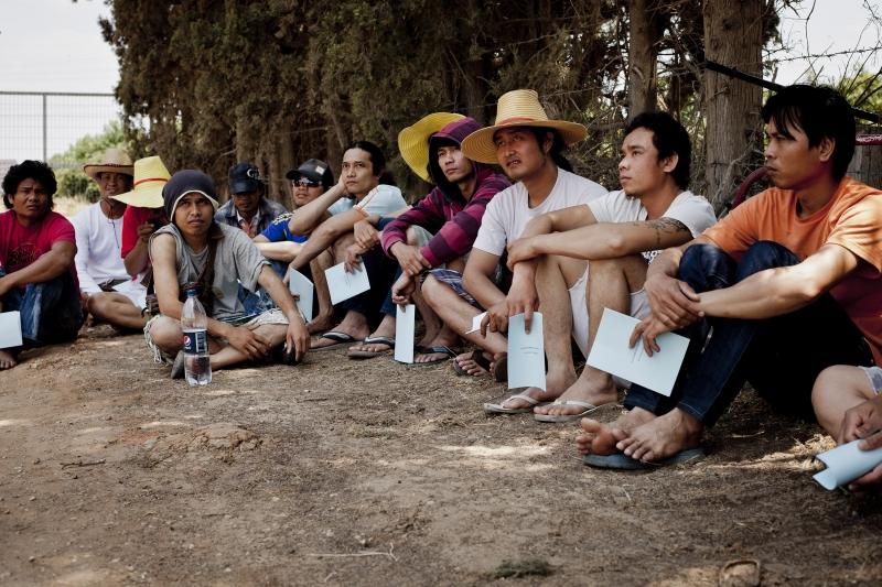 פועלים תאילנדים מועסקים בהדברה, בלי הדרכה או הגנה – סיקור מורחב בעיתון הארץ