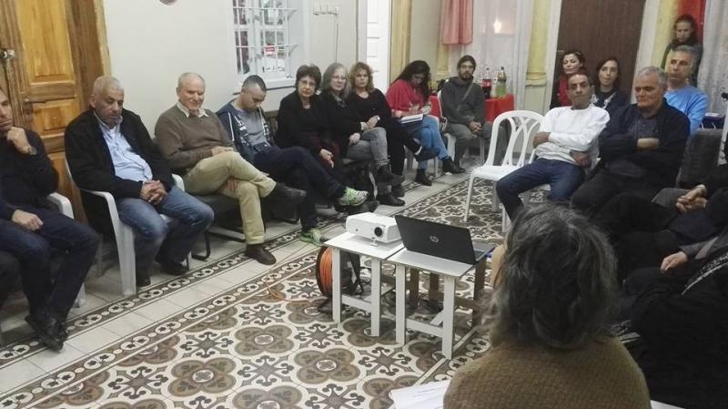 מפגש אזרחים להרתמות למאבק למען בטיחות באתרי הבנייה ולמידה משותפת