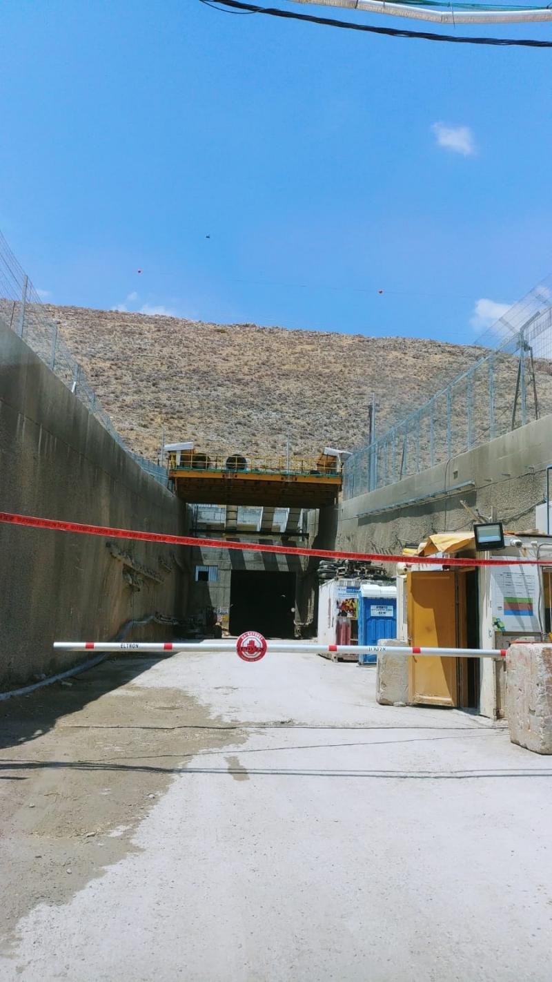 """משטרת ישראל הורתה בצעד חריג על סגירת אתר הבנייה של תחנת הכוח """"אגירה שאובה בגלבוע"""" ל-25 יום"""
